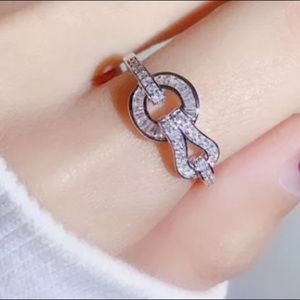 Jewelry - Pave Baguette Ring